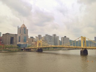 Ohio River in Pittsburgh, Pennsylvania