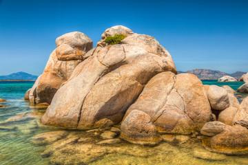 Beach Rocks Landscape Mediterranean