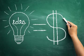 Convert ideas into cash