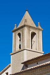 Annunziata Church. Cancellara. Basilicata. Italy.