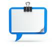 Clipboard - speech bubble
