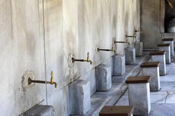 Washbasins for prayer