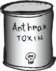 doodle can of anthrax toxin