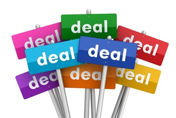 deal signs