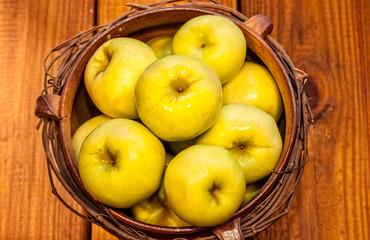 Bowl of Fresh Apples