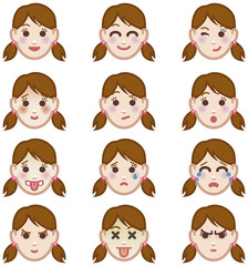 Female expressions