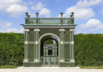 Castle gardens around the Schonbrunn Palace, Austria