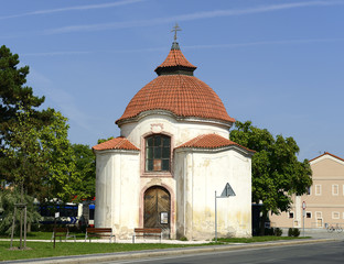 Stara Boleslav, Chapel of the Blessed Podiven, built in 1738