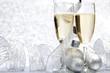 Obrazy na płótnie, fototapety, zdjęcia, fotoobrazy drukowane : Champagne and decoration