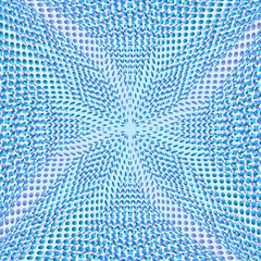 Blue dot abstract background