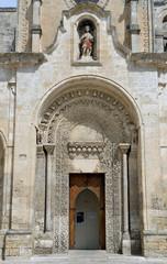 Matera, portale chiesa di S.Giovanni Battista