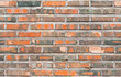 Seamless background texture of old red brick wall - 71961708