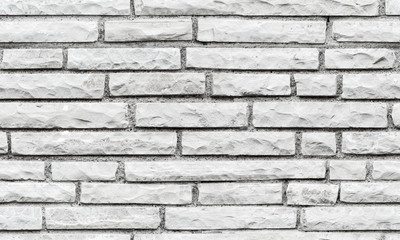 Seamless background texture of gray brick wall
