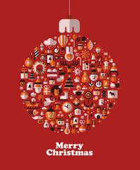 Christmas. Vector format