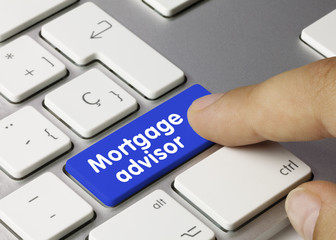Mortgage advisor. Keyboard