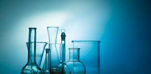 laboratory flasks and glasware