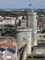 la rochelle, charente, port, chateau, tour, vieux, charentes
