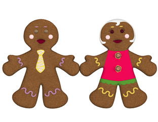 Couple of gingerbread.
