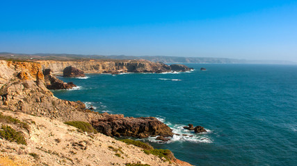 Portugal, ocean cliffs