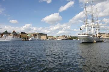 balade à Stockholm en Suède