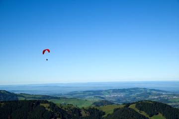 Gleitschirmflieger - Ebenalp - Alpstein - Schweiz