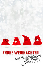 Frohe Weihnachten und ein erfolgreiches Jahr 2015