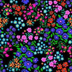 Ditsy floral seamless print