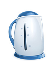 Electric kettle, vector icon