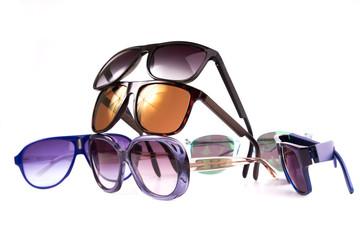 Conjunto de Óculos Isolados