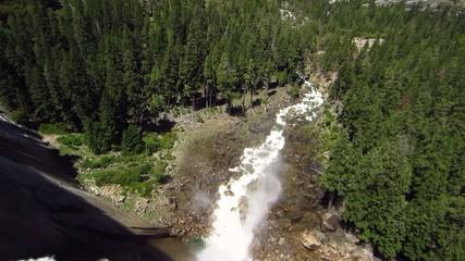 Yosemite Nationalpark, Nevada Falls 3847