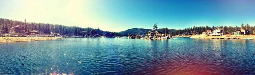 The magical Big Bear lake - Ca