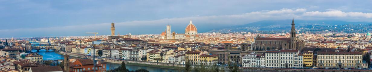 A beautiful panorama of Florence, Tuscany, Italy.