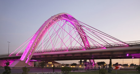 Overpass in Bina. Azerbaijan