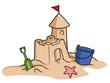 sand castle - 71975556