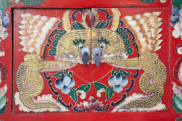 Dragon door chinese style