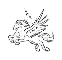 horse wings