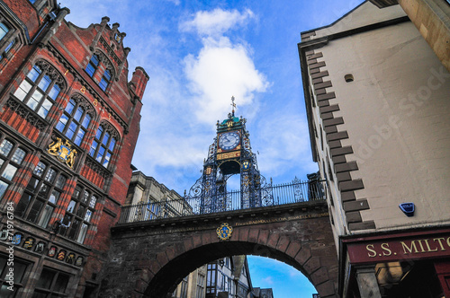 イギリス チェスター 時計塔 Chester England - 71976784