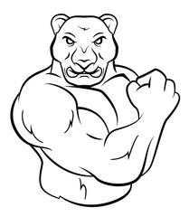 Strong Panther
