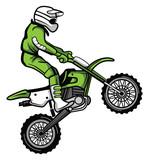 Fototapety Moto Cross