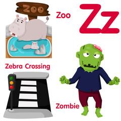 Illustrator of Z alphabet