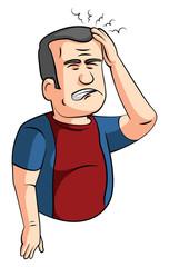 headaches man