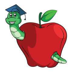 Caterpillar Apple