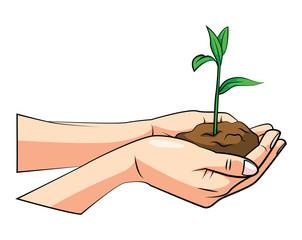 Keep Green Hand