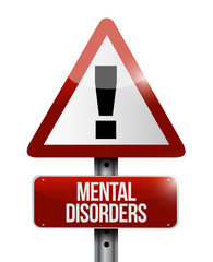 mental disorders warning sign