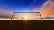 Soccer goal - 71981108