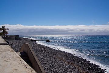 Steinige Südküste von Madeira