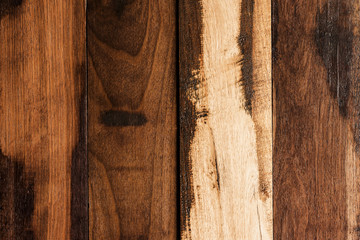 Vertical wood panels texture  background.