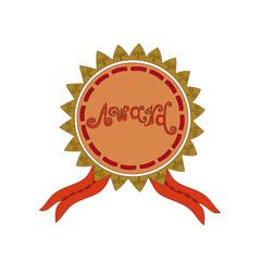 Award - hand drawn typography