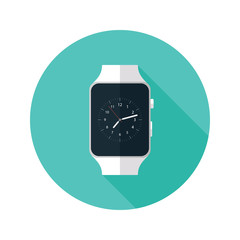 Light Smart Watch Flat Icon