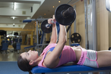 Women in gym